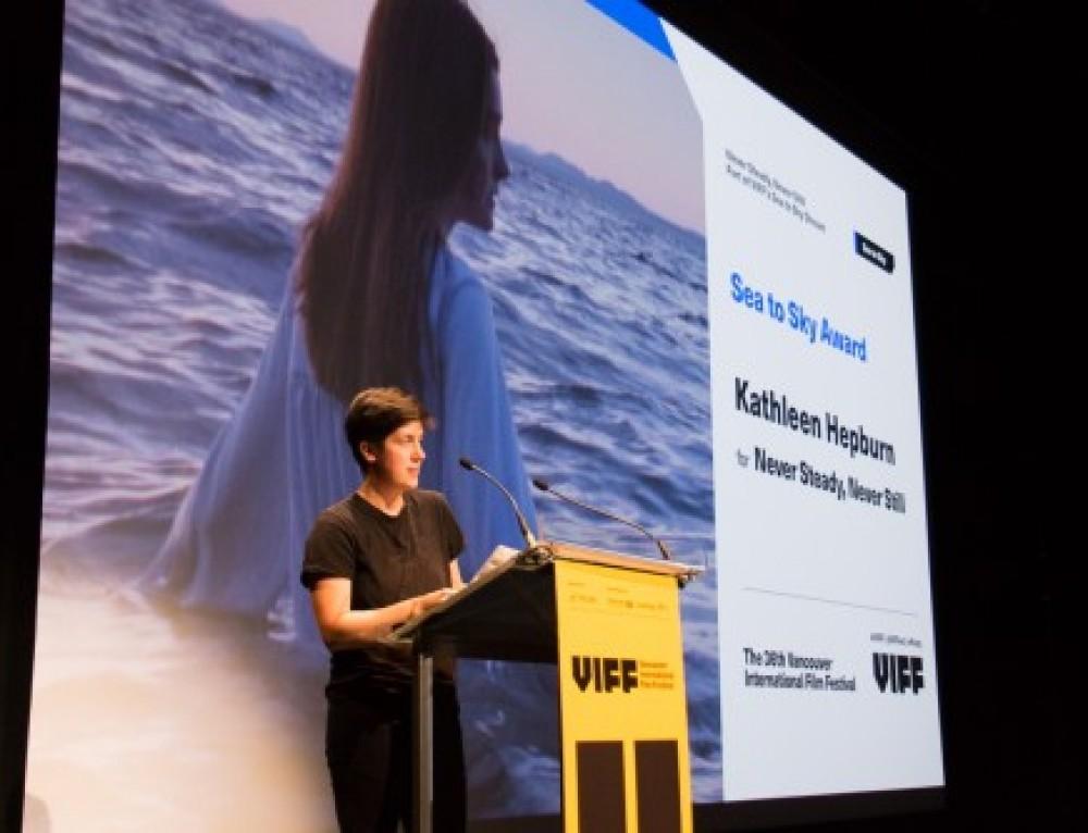 WIDC Feature Film Award-winning Director Kathleen Hepburn Sweeps BC Spotlight Gala at VIFF